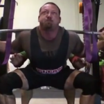 Chris Duffin World Record Squat! 860 at 220 lbs